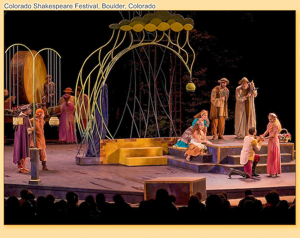 Colorado Shakespeare Festival on the University of Colorado campus.<br />