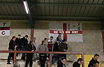 Fleetwood Town 1 Wrexham 1, 10/04/2012. Highbury Stadium, Football Conference Premier. Home supporters making their way out of the Memorial Stand after Fleetwood Town (in red) hosted Wrexham in a Blue Square Conference Premier match at Highbury Stadium. The match, between the top two teams in the division ended in a 1-1 draw watched by a near-capacity crowd of 4996. A victory for the hosts would have seen the club promoted to the Football League for the first time. Photo by Colin McPherson.