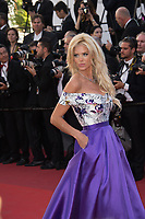 Victoria Silvstedt at the premiere for &quot;Okja&quot; at the 70th Festival de Cannes, Cannes, France. 19 May  2017<br /> Picture: Paul Smith/Featureflash/SilverHub 0208 004 5359 sales@silverhubmedia.com