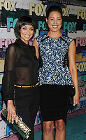 WEST HOLLYWOOD, CA - JULY 23: Tamara Taylor and Michaela Conlin arrive at the FOX All-Star Party on July 23, 2012 in West Hollywood, California. / NortePhoto.com<br />