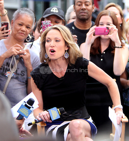July 26, 2012 Amy Robach of  Good Morning America in New York City.Credit:© RW/MediaPunch Inc.