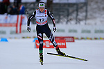 Lucia Scardoni competes during the 5 Km Individual Free race of Tour de ski as part of the FIS Cross Country Ski World Cup  in Dobbiaco, Toblach, on January 8, 2016. American Jessica Diggins wins the race, ahead of Norway's Heidi Weng and third place for actual leader Ingvild Flugstad Oestberg from Norway. Credit: Pierre Teyssot
