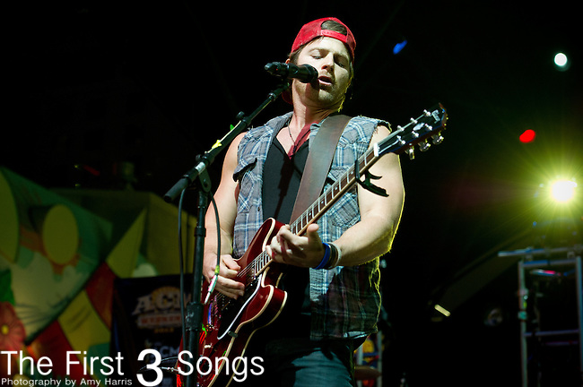 Kip Moore performs during the 2013 ACM Concerts at Fremont Street Experience Event in Las Vegas, Nevada.