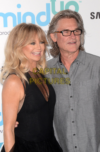 BEVERLY HILLS, CA - NOVEMBER 03: Goldie Hawn, Kurt Russell at Goldie's Love In For Kids at Ron Burkle's Green Acres Estate on November 3, 2017 in Beverly Hills, California. <br /> CAP/MPI/DE<br /> &copy;DE/MPI/Capital Pictures