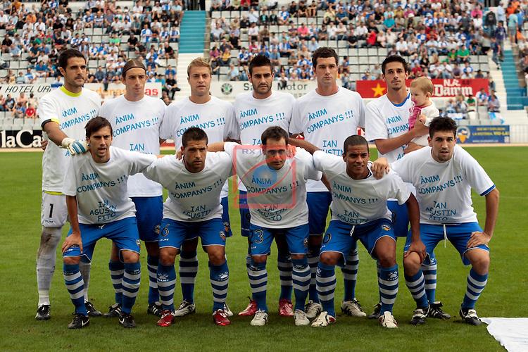 Partido de futbol Ce Sabadell / Hercules de Alicante