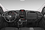 Stock photo of straight dashboard view of a 2013 Toyota Proace Comfort 5 Door Cargo Van Dashboard