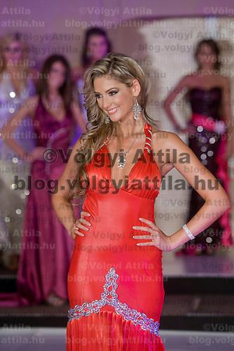 Anett Maximovits won the Miss Hungary beauty contest held in Budapest, Hungary. Saturday, 19. December 2009. ATTILA VOLGYI