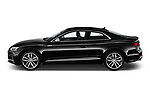 Car Driver side profile view of a 2018 Audi S5 Premium-Plus 2 Door Coupe Side View