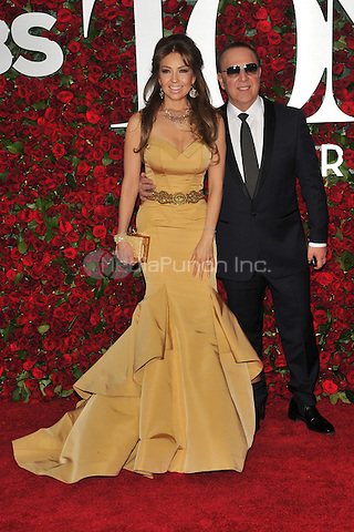 NEW YORK, NY - JUNE 12: Thalia at the 70th Annual Tony Awards at The Beacon Theatre on June 12, 2016 in New York City. Credit: John Palmer/MediaPunch