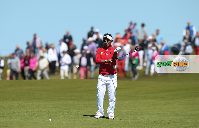 2014 Nordea Masters Champion Thongchai Jaidee (THA) missed the cut during Round Two of the 2015 Nordea Masters at the PGA Sweden National, Bara, Malmo, Sweden. 05/06/2015. Picture David Lloyd | www.golffile.ie