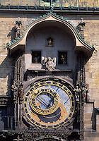 astronomische Uhr am Altstaedter Rathaus, Prag, Tschechien, Unesco-Weltkulturerbe