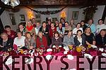 All enjoying the Erin na faila abbeyfeale Christmas party at Cassidys on Thursday