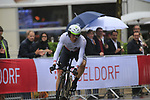 Edvald Boasson Hagen (NOR) Team Dimension Data in action during Stage 1, a 14km individual time trial around Dusseldorf, of the 104th edition of the Tour de France 2017, Dusseldorf, Germany. 1st July 2017.<br /> Picture: Eoin Clarke | Cyclefile<br /> <br /> <br /> All photos usage must carry mandatory copyright credit (&copy; Cyclefile | Eoin Clarke)