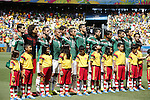 Mexico team group (MEX), JUNE 29, 2014 - Football / Soccer : FIFA World Cup Brazil<br /> match between Netherlands and Mexico at the Castelao stadium in Fortaleza, Brazil. (Photo by AFLO)