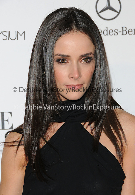 """Abigail Spencer  attends the Art of Elysium 4th Annual Charity Gala """"Heaven"""" held at The Annenberg Building at The California Science Center in Los Angeles, California on January 15,2011                                                                               © 2010 DVS / Hollywood Press Agency"""