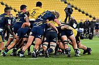 Super Rugby - Hurricanes v Highlanders at Westpac Stadium, Wellington, New Zealand on Friday 8 March 2019. <br /> Photo by Masanori Udagawa. <br /> www.photowellington.photoshelter.com