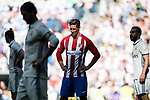Fernando Torres of Atletico de Madrid reacts during their La Liga match between Real Madrid and Atletico de Madrid at the Santiago Bernabeu Stadium on 08 April 2017 in Madrid, Spain. Photo by Diego Gonzalez Souto / Power Sport Images