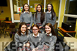 KERRY SCIENCE: Students from ISK who participated in the Senior science quiz at Tralee IT on Thursday evening pictured here are Front l-r Oral Reynolds, Megan O'Shea, Sarah O'Shea, Back l-r Caoimhe Boyle, Anuka Altansan and Grace Cantilan