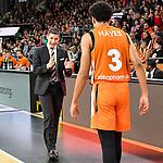 05.01.2020, ratiopharm arena, Neu-Ulm, GER, BBL, ratiopharm ulm vs Telekom Baskets Bonn, <br /> im Bild Jaka Lakovic (Ulm), Killian Hayes (Ulm, #3)<br /> <br /> Foto © nordphoto / Hafner