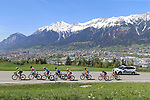 Cycling Tour of the Alps 2018; <br /> Stage 5 between Rattenberg and Innsbruck on April 20, 2018 in Innsbruck, Austria; French Thibaut Pinot (Groupama-FDJ) wins the Tour of the Alps 2018.