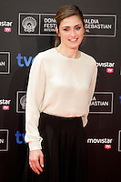 "French actress Julie Gayet posses in the photocall of the ""Quai D´orsay"" film premiere during the 61 San Sebastian Film Festival, in San Sebastian, Spain. September 24, 2013. (ALTERPHOTOS/Victor Blanco) <br /> San Sebastian Film Festival <br /> Foto Insidefoto"
