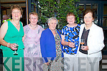 FESTIVAL:  Supporting the East Kerry Roots Festival Banquet and the inauguration of the Brosnan Clan Chieftain, in the River Island Hotel Castleisland on Saturday evening l-r: Ann and Breda Joans Brosnan (Cordal), Mary Brosnan (Tullig), Peggy Brosnan (Cordal) and Nancy Brosnan (Castleisland) of The Brosnan Clan.