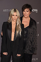 LOS ANGELES, CA - NOVEMBER 04: TV personalities Kim Kardashian (L) and Kris Jenner attend the 2017 LACMA Art + Film Gala Honoring Mark Bradford and George Lucas presented by Gucci at LACMA on November 4, 2017 in Los Angeles, California.<br /> CAP/ROT/TM<br /> &copy;TM/ROT/Capital Pictures