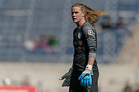 Bridgeview, IL - Saturday May 06, 2017: Alyssa Naeher during a regular season National Women's Soccer League (NWSL) match between the Chicago Red Stars and the Houston Dash at Toyota Park. The Red Stars won 2-0.