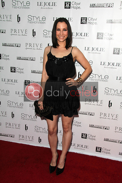 Heather McComb<br /> at Sue Wong's 'Fairies and Sirens' Fashion Show at L.A. Fashion Week. The Reef, Los Angeles, CA 10-15-14<br /> David Edwards/Dailyceleb.com 818-249-4998