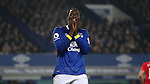 Romelu Lukaku of Everton reacts during  the English Premier League match at Goodison Park, Liverpool. Picture date: December 19th, 2016. Photo credit should read: Lynne Cameron/Sportimage