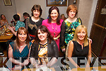 Cecilia Ahern, Eileen Ahern, Dawn O'Hara, Majella Egan, Elaine Breen, Norma O'Donoghue, from Causeway, Ballyheigue and Lisselton having a girls night out at Balla Bia's on Saturday