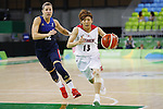 Rui Machida (JPN), AUGUST 13, 2016 - Basketball : <br /> Women's Preliminary Round <br /> between Japan 79-71 France <br /> at Youth Arena <br /> during the Rio 2016 Olympic Games in Rio de Janeiro, Brazil. <br /> (Photo by Yusuke Nakanishi/AFLO SPORT)
