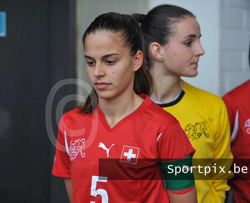 UEFA Women's Under 17 Championship - Second Qualifying round - group 1 : Switzerland - Belgium  : .Alessa Castignetti.foto DAVID CATRY / Vrouwenteam.be