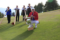 Matthew Fitzpatrick (ENG) wins the 2018 Omega European Masters, held at the Golf Club Crans-Sur-Sierre, Crans Montana, Switzerland. 9th September 2018.<br /> Picture: Eoin Clarke | Golffile<br /> <br /> <br /> All photos usage must carry mandatory copyright credit (© Golffile | Eoin Clarke)