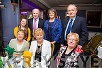 At the Kerry Supporters Club social on Saturday night in Ballygarry House Hotel were Front l-r Catherine Nolan, Peggy King, Eileen King Back l-r Mary McCarthy, Brendan McCarthy, Mary Ryan and Sean Ryan