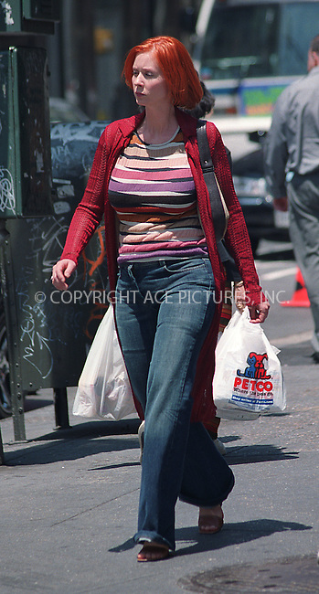 "NY Post reports that ""Sex and the City"" star Cynthia Nixon and her longtime boyfriend Danny Mozes are expecting their second child at the end of this year. ***File Photo*** Cynthia Nixon filming ""Sex and the City"" in Union Square, New York. May 30, 2002. Apparently Cynthia had to put on some extra weight to make the show more realistic. Please byline: Alecsey Boldeskul/NY Photo Press.   ..*PAY-PER-USE*      ....NY Photo Press:  ..phone (646) 267-6913;   ..e-mail: info@nyphotopress.com"