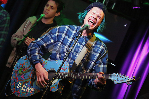 BALA CYNWYD, PA- NOVEMBER 8 :  Grouplove visit Radio 104.5 performance studio in Bala Cynwyd, Pa on November 8, 2016  photo credit Star Shooter/MediaPunch