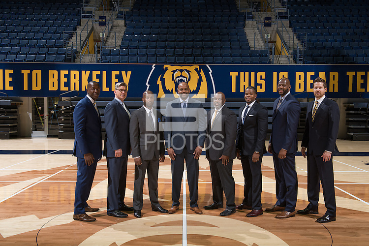 Berkely, Ca - Friday, September 23, 2016: Cal 2016 Men's Basketball Team Photo