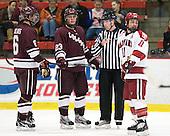Spiro Goulakos (Colgate - 6), Chris Wagner (Colgate - 23), Martin Hughes, Daniel Moriarty (Harvard - 11) - The Harvard University Crimson defeated the visiting Colgate University Raiders 4-2 on Saturday, November 12, 2011, at Bright Hockey Center in Cambridge, Massachusetts.