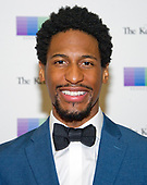 Jon Batiste arrives for the formal Artist's Dinner honoring the recipients of the 40th Annual Kennedy Center Honors hosted by United States Secretary of State Rex Tillerson at the US Department of State in Washington, D.C. on Saturday, December 2, 2017. The 2017 honorees are: American dancer and choreographer Carmen de Lavallade; Cuban American singer-songwriter and actress Gloria Estefan; American hip hop artist and entertainment icon LL COOL J; American television writer and producer Norman Lear; and American musician and record producer Lionel Richie.  <br /> Credit: Ron Sachs / Pool via CNP