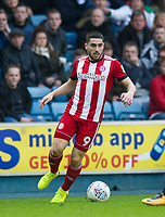 Brentford Neal Maupay during the Sky Bet Championship match between Millwall and Brentford at The Den, London, England on 10 March 2018. Photo by Andrew Aleksiejczuk / PRiME Media Images.