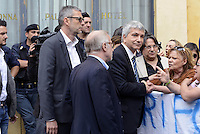 Roma, 20 Maggio 2015<br /> Nichi Vendola<br /> Protesta in Piazza Montecitorio contro il DDL scuola in discussione e votazione alla Camera