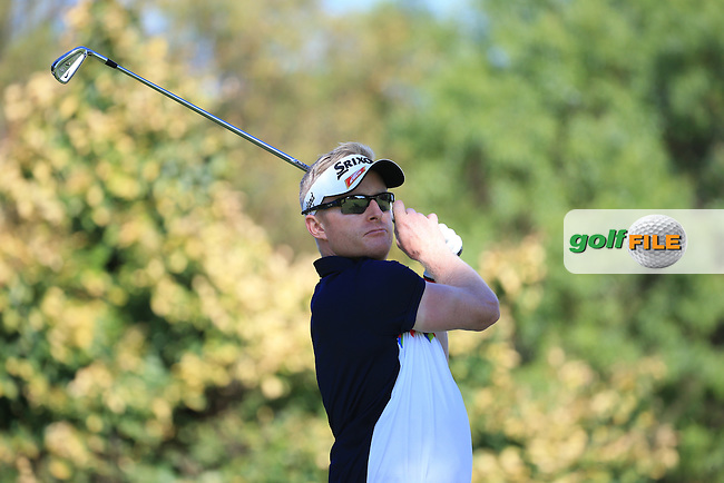 Simon Dyson (ENG) in action during the completion of Round Two of the 2016 BMW SA Open hosted by City of Ekurhuleni, played at the Glendower Golf Club, Gauteng, Johannesburg, South Africa.  09/01/2016. Picture: Golffile | David Lloyd<br /> <br /> All photos usage must carry mandatory copyright credit (&copy; Golffile | David Lloyd)