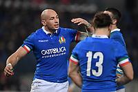 Sergio Parisse Italy<br />  <br /> Roma 9-02-2019 Stadio Olimpico<br /> Rugby Six Nations tournament 2019  <br /> Italy - Wales <br /> Foto Antonietta Baldassarre / Insidefoto