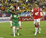 Atlético Huila empató 3-3 a independiente Santa Fe  en el partido correspondiente a la fecha 3 del grupo A en los cuadrangulares finales 2014.