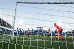 Goalkeeper Norberto Murara Neto of Valencia CF seen behind net goal during the La Liga 2017-18 match between Getafe CF and Valencia CF at Coliseum Alfonso Perez on December 3 2017 in Getafe, Spain. Photo by Diego Gonzalez / Power Sport Images