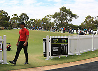 Thorbjorn Olesen (DEN) on the driving range during the Preview of the ISPS Handa World Super 6 Perth at Lake Karrinyup Country Club on the Wednesday 7th February 2018.<br /> Picture:  Thos Caffrey / www.golffile.ie<br /> <br /> All photo usage must carry mandatory copyright credit (&copy; Golffile | Thos Caffrey)