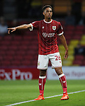 Bristol City's Zak Vyner in action during the Carabao cup match at Vicarage Road Stadium, Watford. Picture date 22nd August 2017. Picture credit should read: David Klein/Sportimage