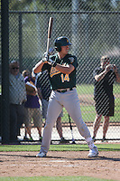 Ryon Healy - Oakland Athletics 2016 spring training (Bill Mitchell)