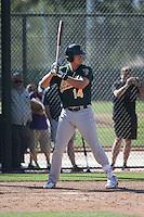 Ryon Healy - Oakland Athletics 2016 spring training (Bill Mitchell)